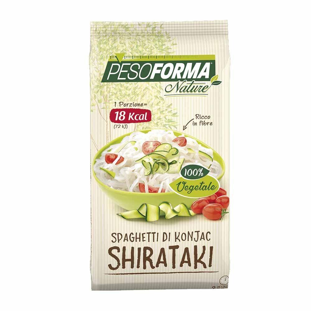 Pesoforma Shirataki Spaghetti Di Konjac 1 Porzione