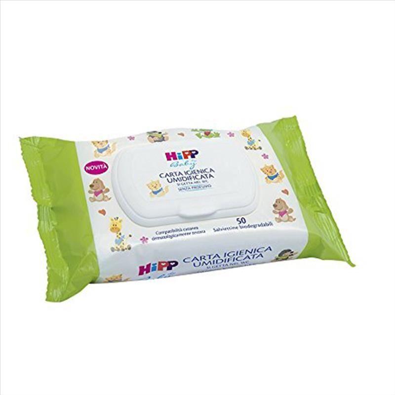 HiPP Carta Igienica Umidificata 50 Pezzi