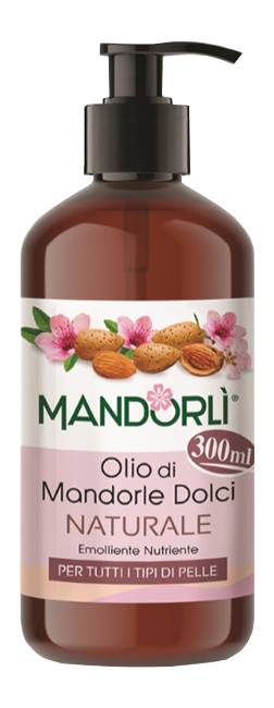 Codefar Mandorlì Olio Corpo Di Mandorle Dolci Naturale, 300ml