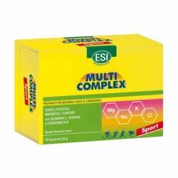 esi multicomplex - integratore dietetico idrosalino per sportivi, 10 buste