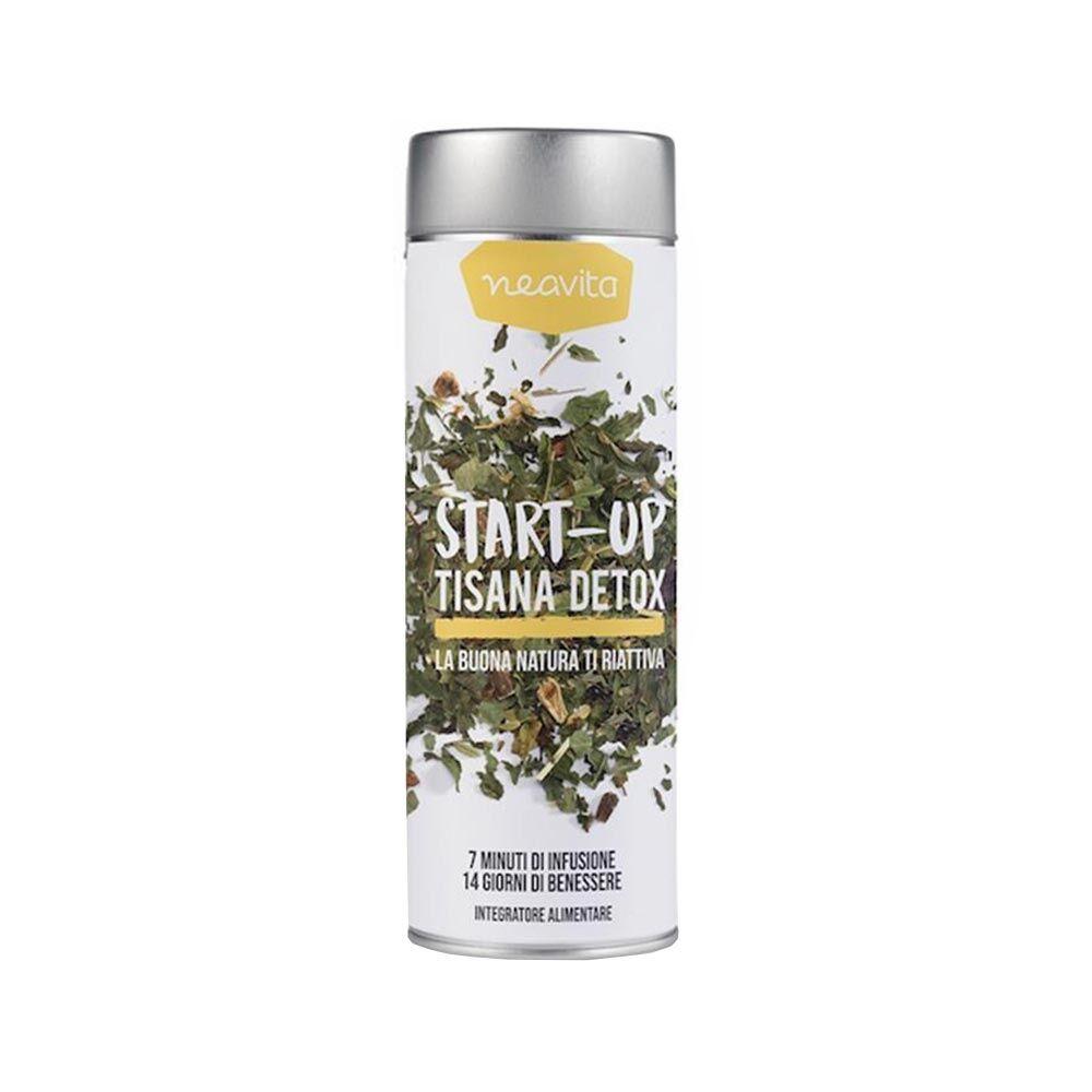 neavita start-up detox tisana sfusa silver tin, 70g