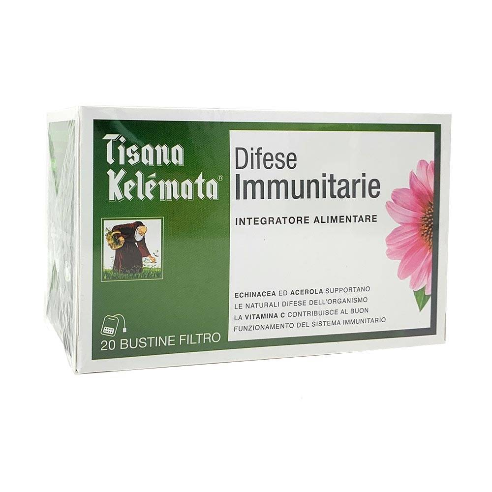 kelemata tisana difese immunitarie integratore alimentare, 20 bustine