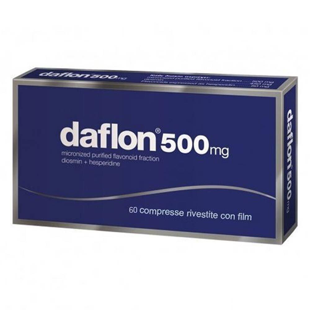 Servier Daflon 500 Mg Compresse Rivestite Con Film 60 Compresse