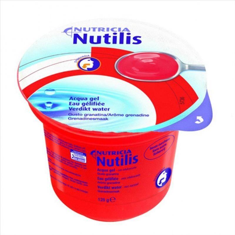Nutricia Nutilis Aqua Gel Gusto Granatina 12 x 125 g