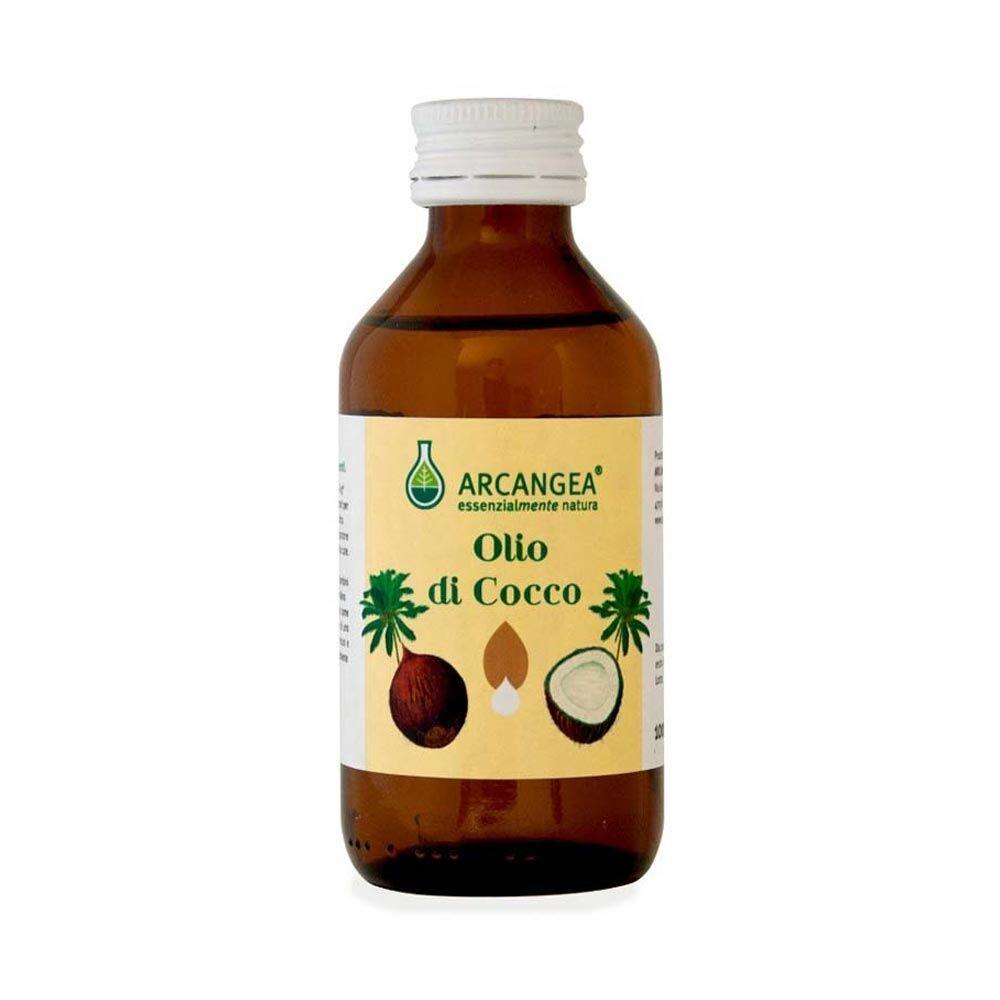 Arcangea Olio di Cocco Biologico per il Trofismo della Cute, 100ml