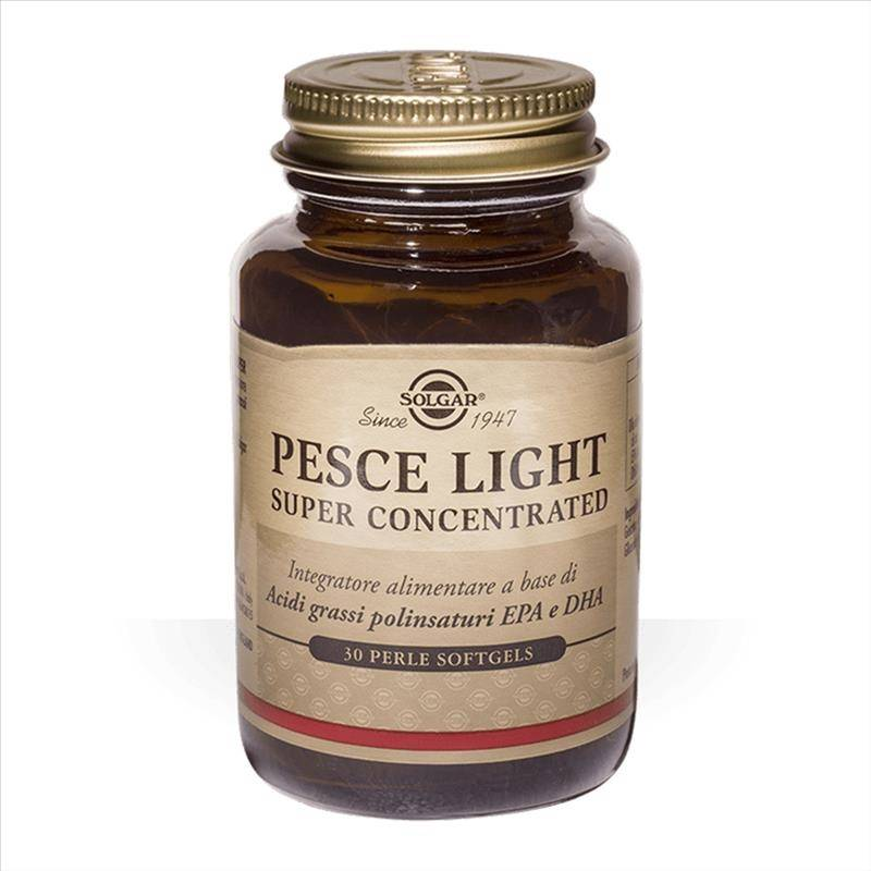 Solgar Pesce Light Super Concentrated Integratore Alimentare 30 Perle