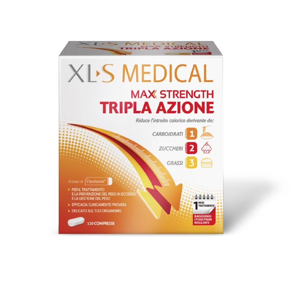 xl-s medical xls medical max strength integratore alimentare, 120 compresse