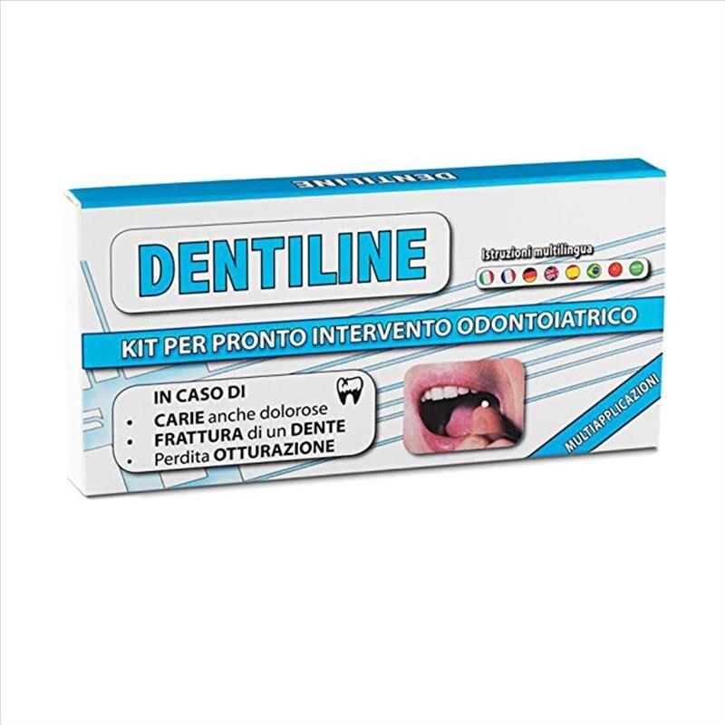 ghimas dentiline kit per pronto intervento odontoiatrico di automedicazione