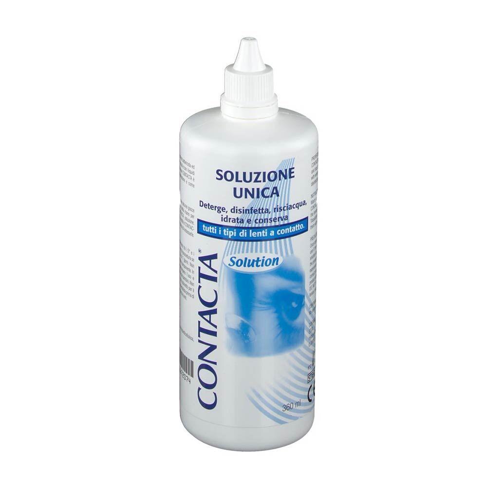 sanifarma contacta - soluzione unica per lenti a contatto, 360ml