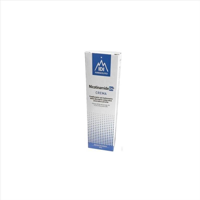idi farmaceutici- nicotinamide ds crema coadiuvante dermatide seborroica, 30 g