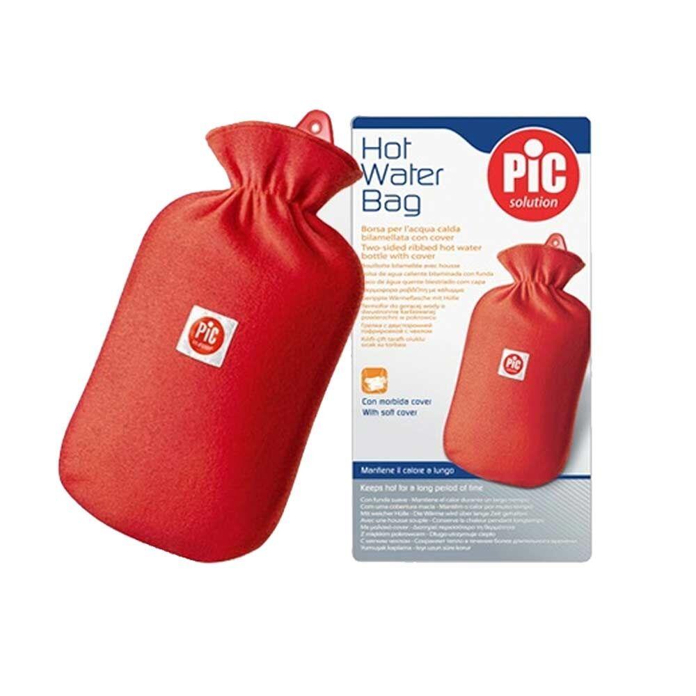 pic borsa acqua calda con cover in gomma naturale e pvc, 1 pezzo