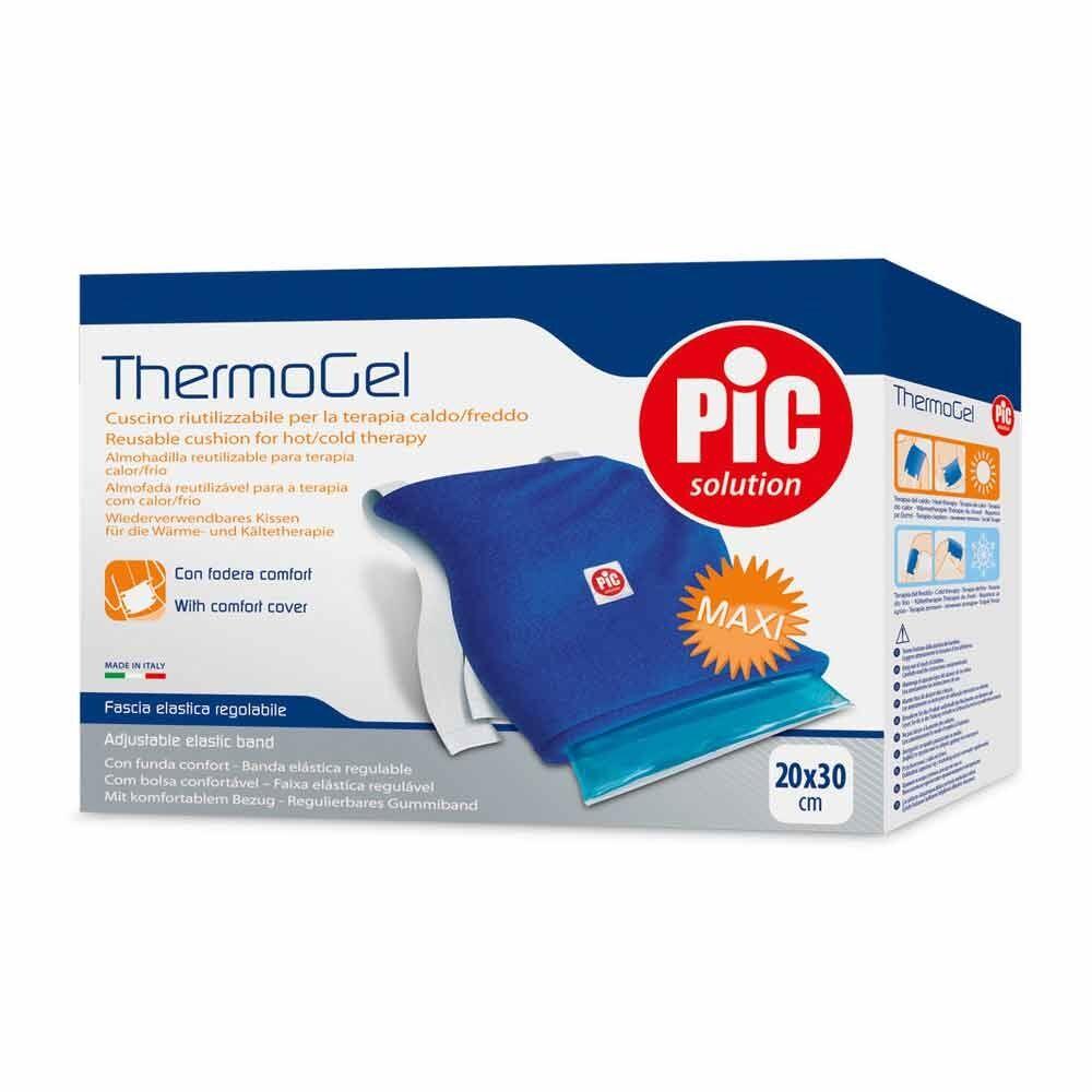 pic thermogel cuscino caldo/freddo con fodera comfort 20 x 30 cm, 1 pezzo