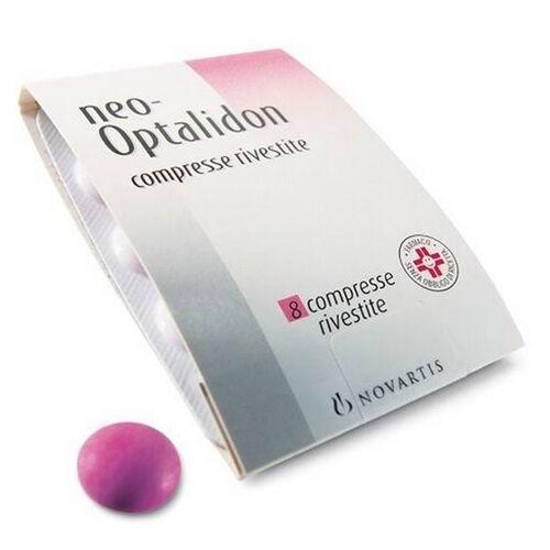 perrigo italia srl neooptalidon 200 mg + 125 mg + 25 mg compresse rivestite 8 compresse in blister pvc/al