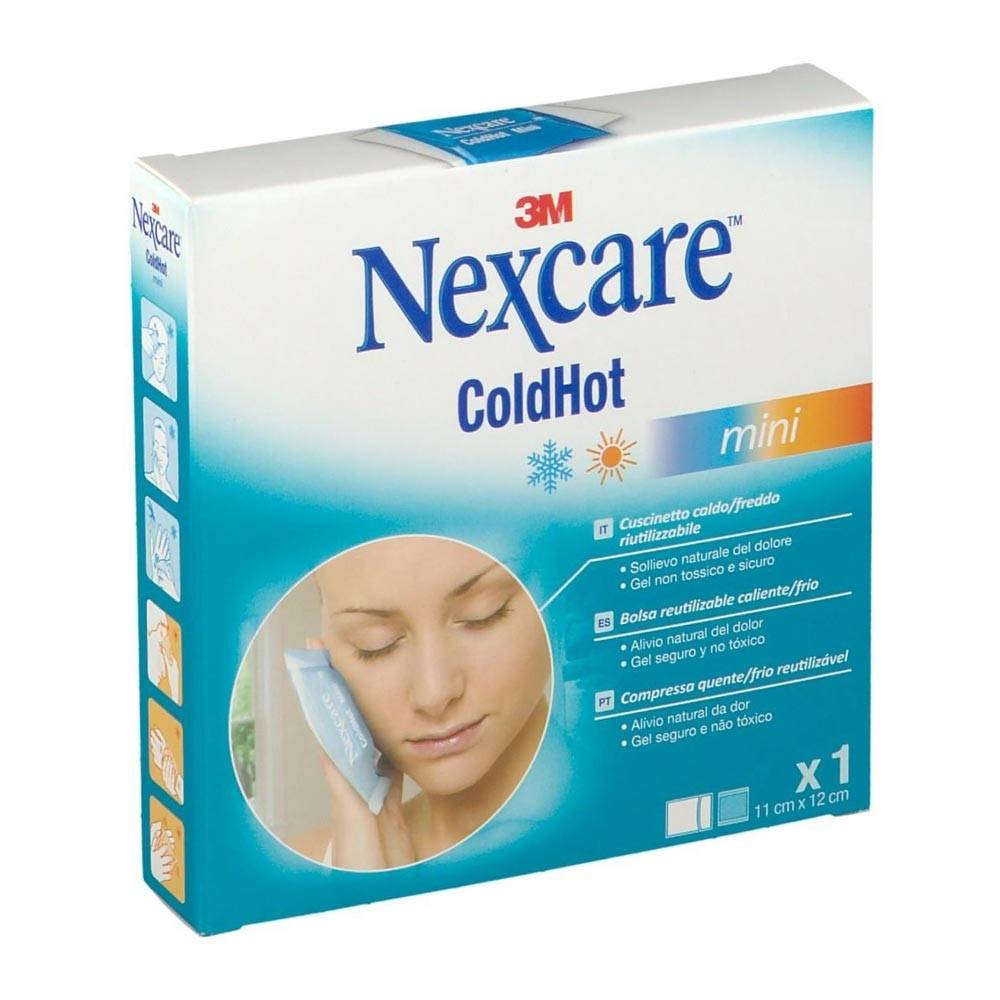 3m Italia Nexcare - Coldhot Therapy  Cuscino Terapia Caldo Freddo Mini, 1 pezzo