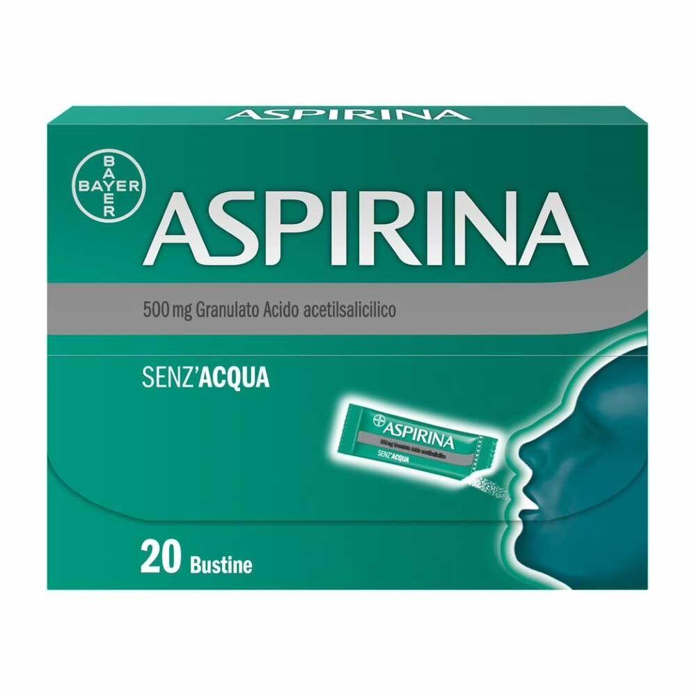 Bayer Aspirina 500 Mg Granulato 20 Bustine