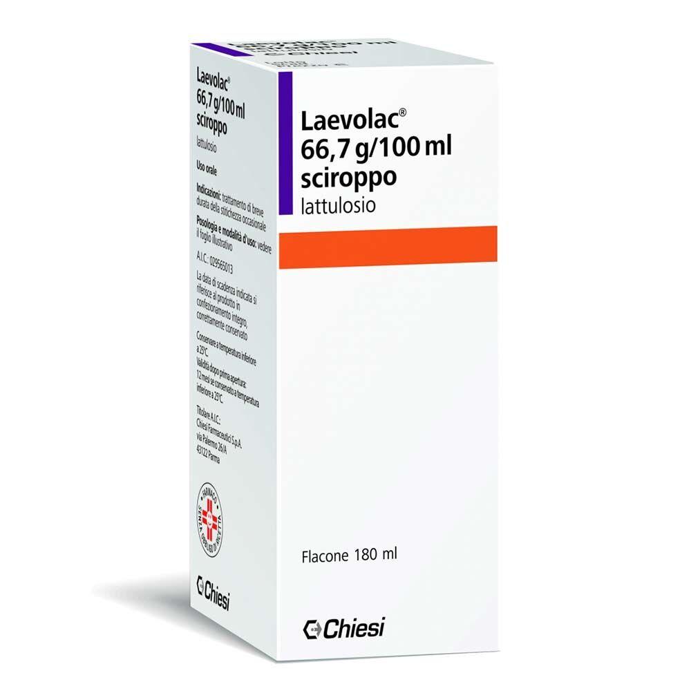 chiesi farmaceutici spa laevolac 66,7 g/100 ml sciroppo flacone 180 ml