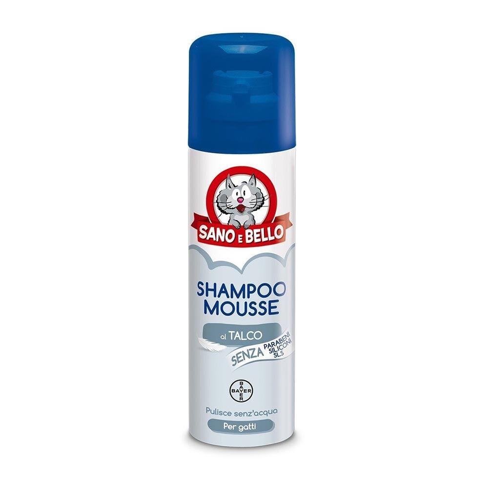 Bayer Sano e Bello Shampoo Mousse Secco 200ml