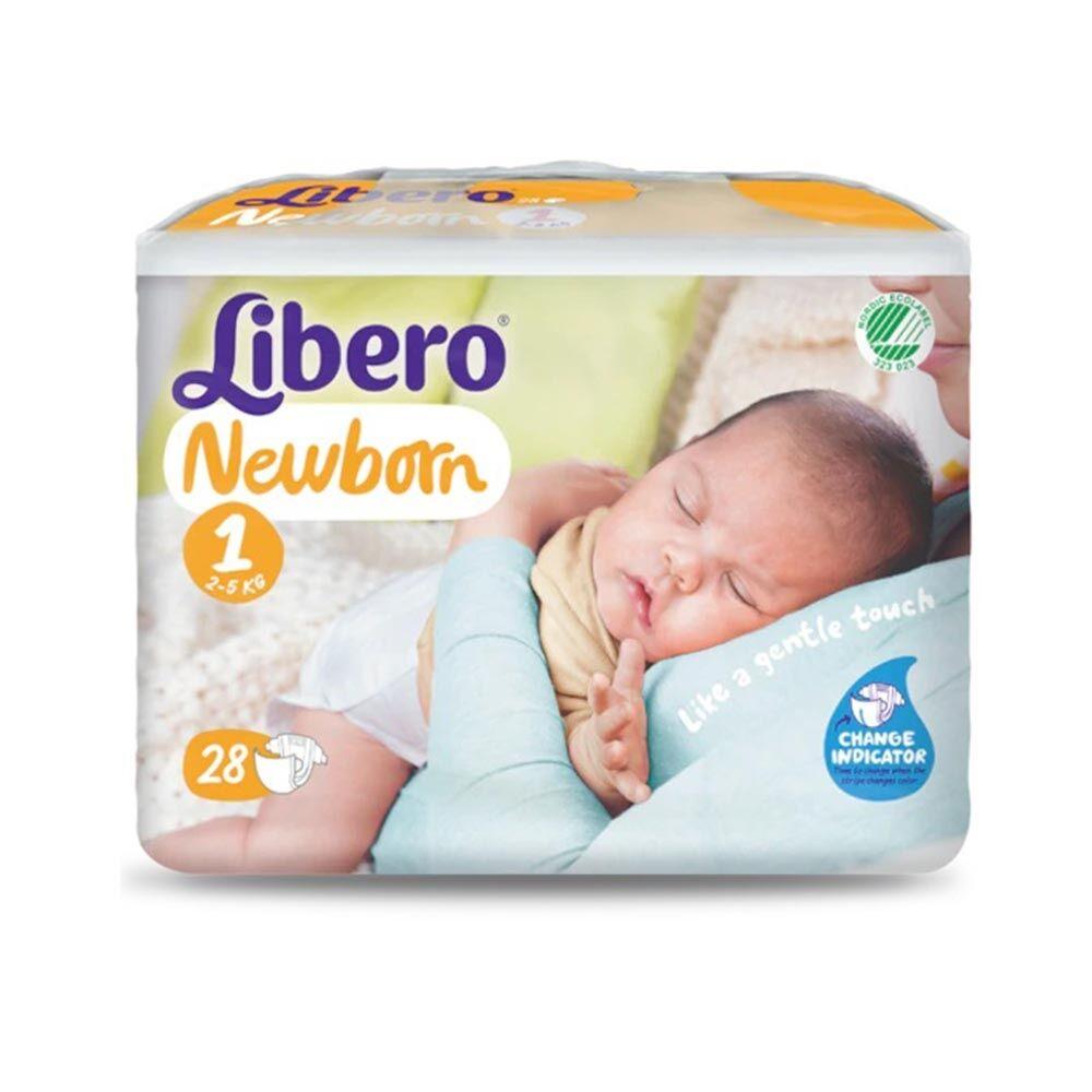 Libero Newborn - 1 Pannolini per Bambini da 2-5 Kg, 24 Pannolini