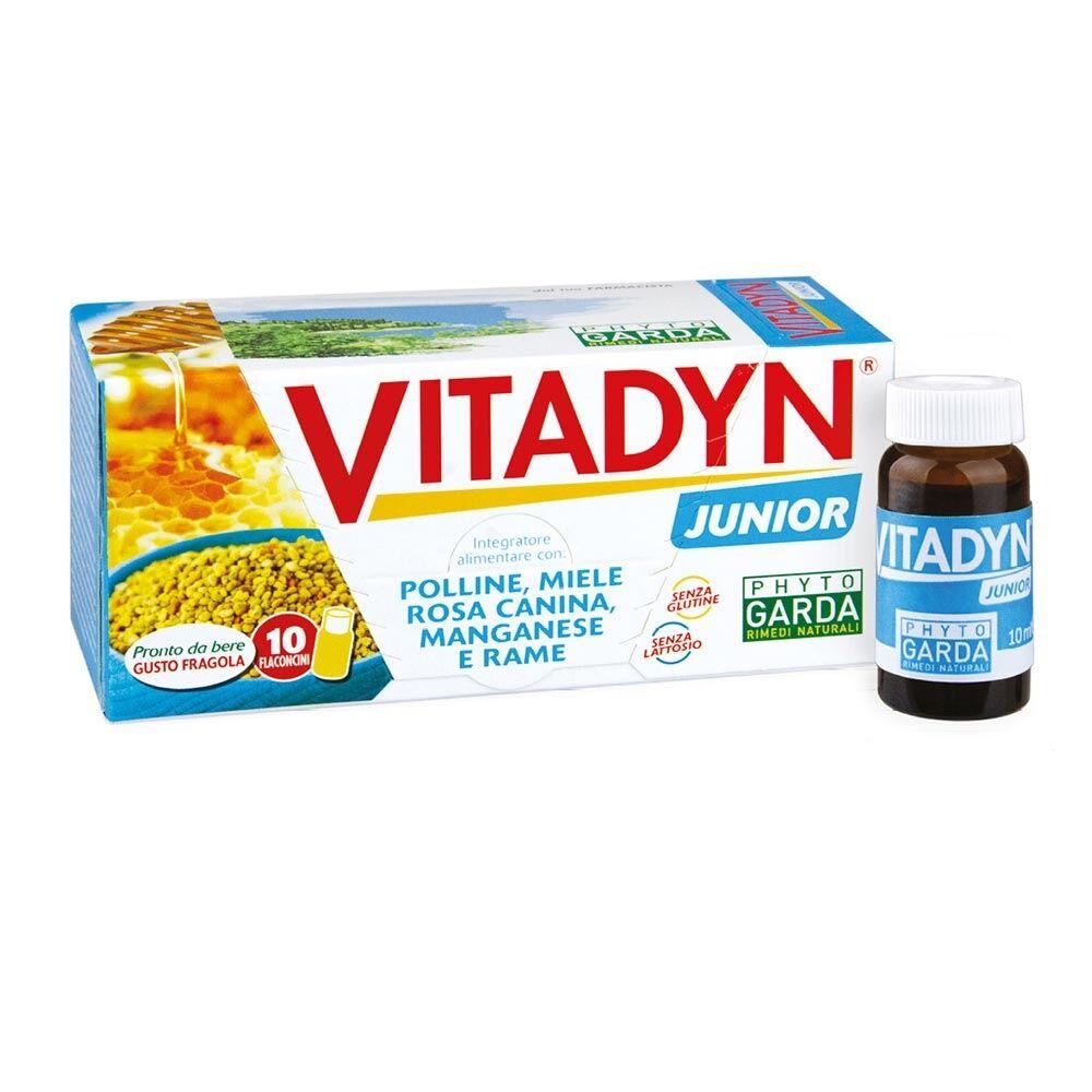Phyto Garda Vitadyn - Junior Integratore Alimentare, 10 Flaconcini