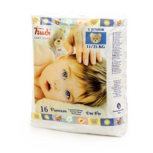 Trudi Baby Care Pannolini Dry Fit Junior 11/25 kg 16 Pezzi
