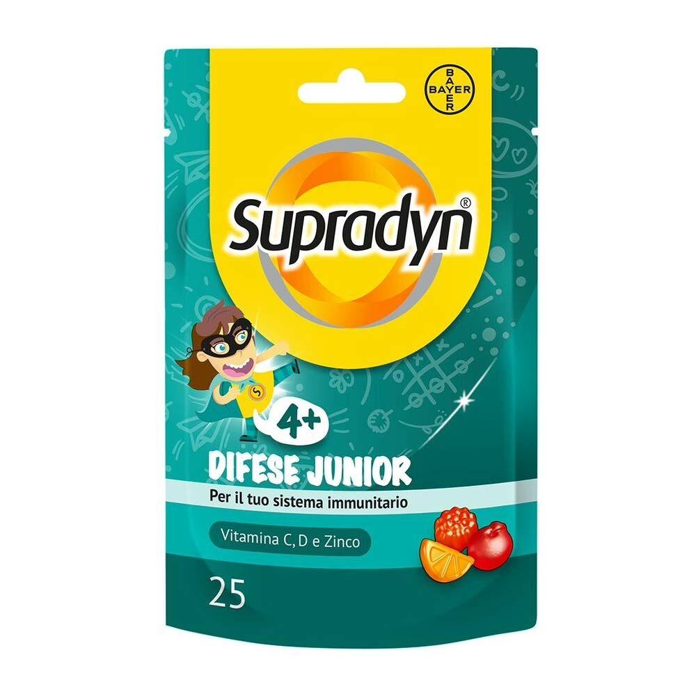 Supradyn Difese Junior Integratore Alimentare, 25 Caramelle
