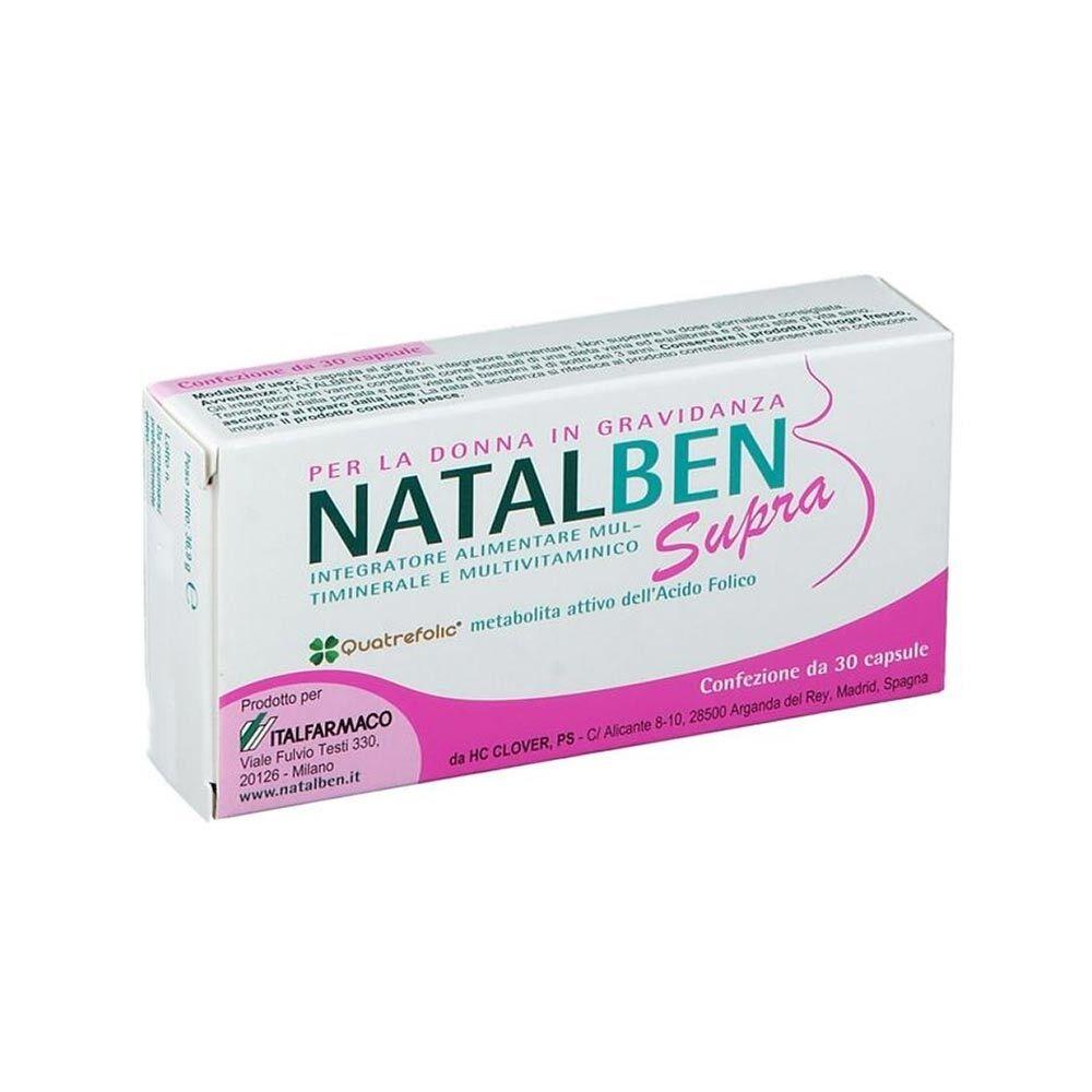 Italfarmaco Natalben Supra Integratore Alimentare 30 Capsule