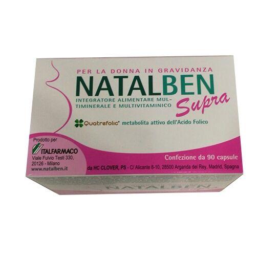 Italfarmaco Natalben Supra Integratore Alimentare 90 Capsule