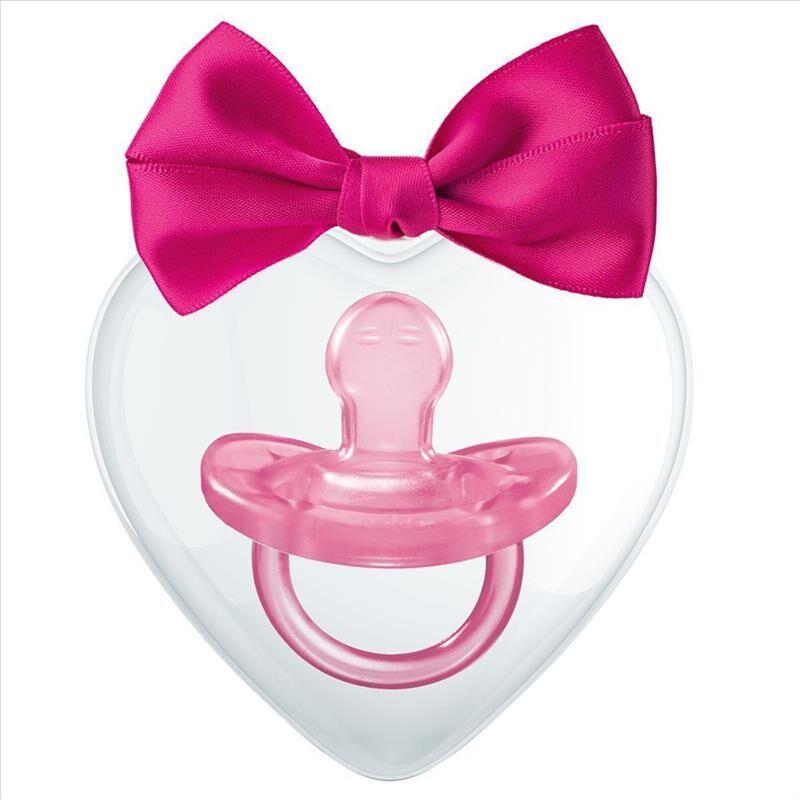 Chicco Fantastic Love Gommotto Silicone 0-6m Colore Rosa 1 Pezzo