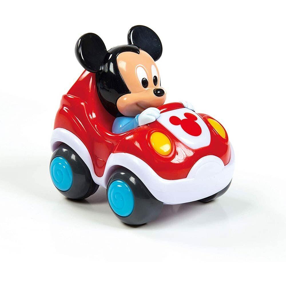 Clementoni Disney Baby Macchinina Pull Back tira e vai 12+M, 1 Pezzo