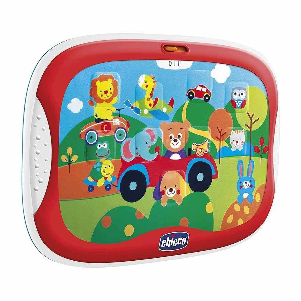 Chicco Gioco Tablet Degli Animali Gioco Elettronico Parlante 1-3 Anni, 1 Pezzo