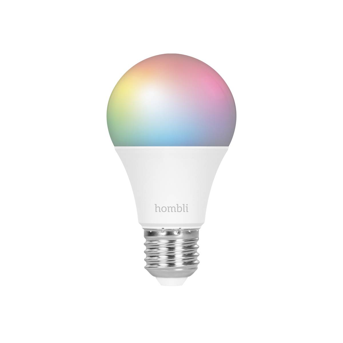 hombli smart bulb e27 rgb + cct incl. bt