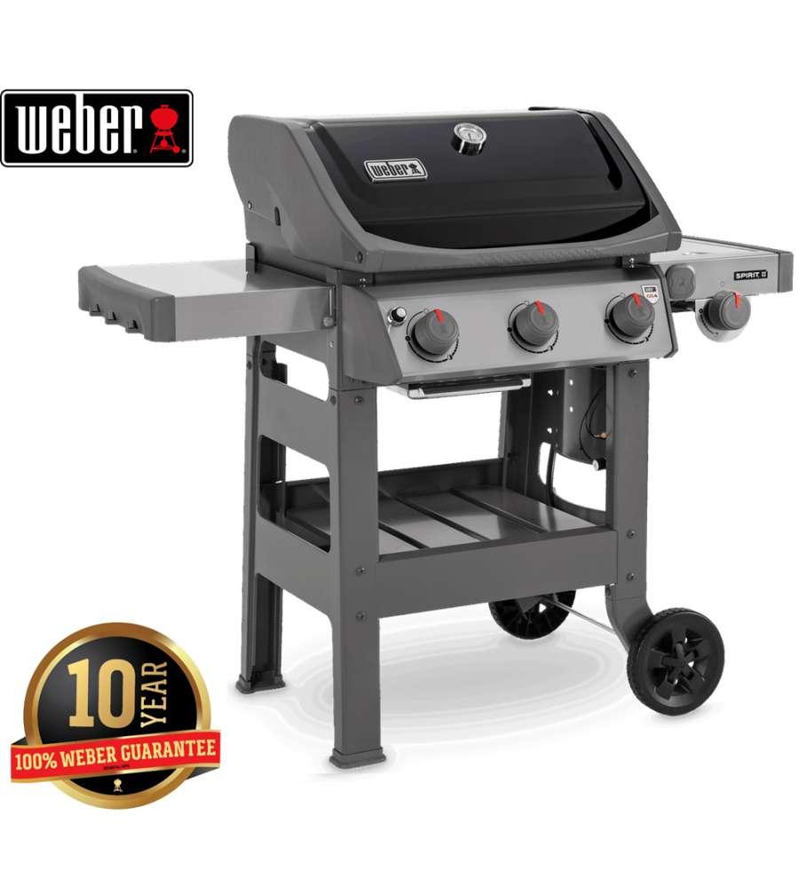 weber barbecue gas spirit ii e-320