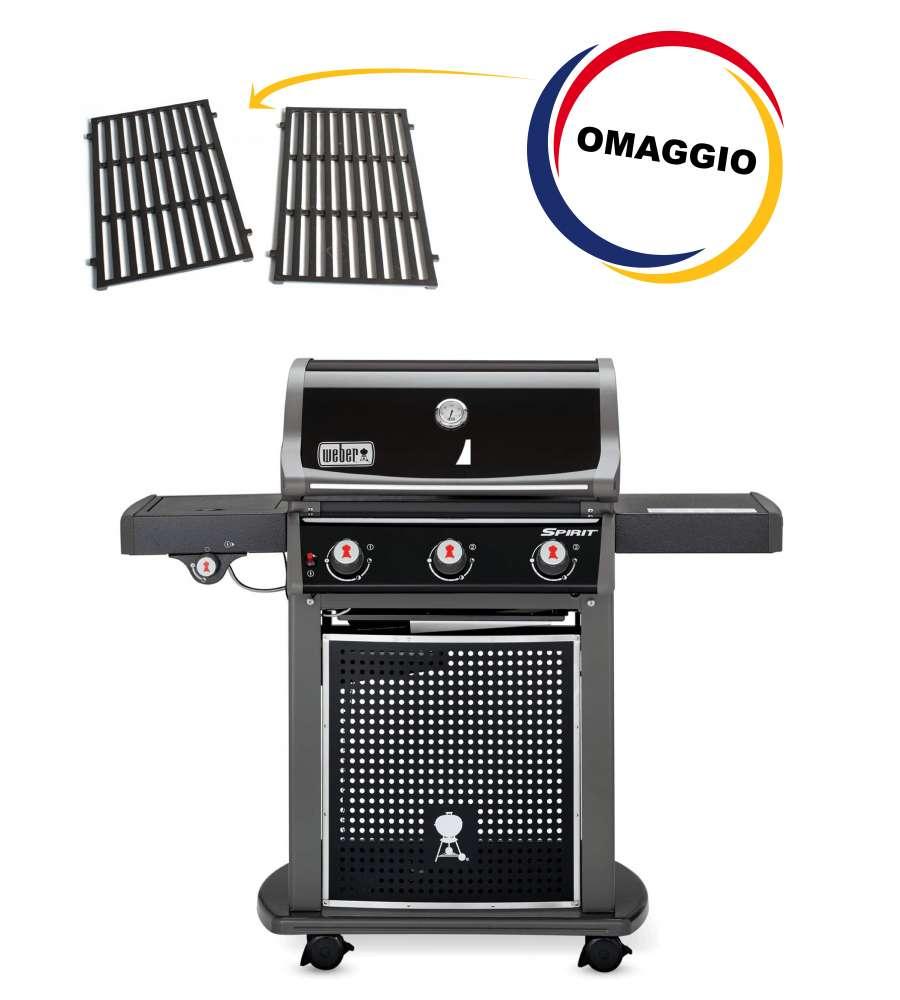 weber barbecue gas spirit e-320 classic + griglia