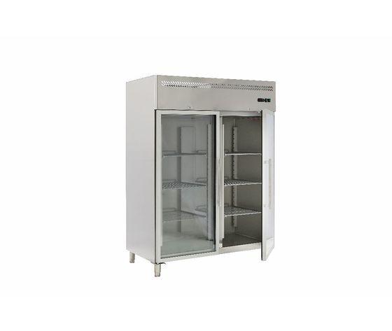 Armadio Refrigerato Doppia Porta Vetro G-Gn1410tng-Fc Temperatura -2/+8°c Gn 2/1 Lt1300