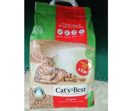 lettiera vegetale per gatti