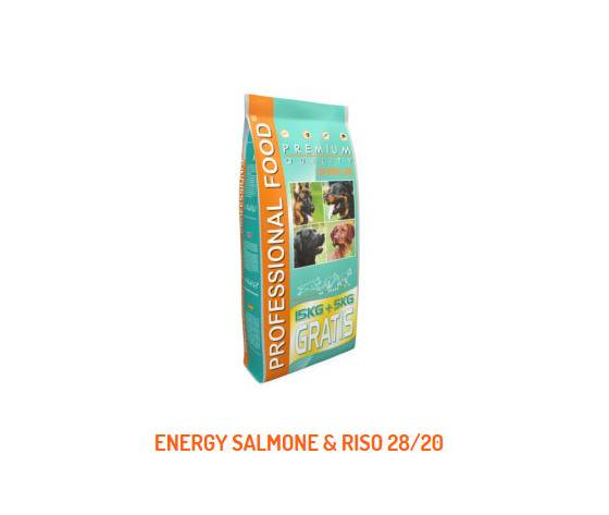 cennamo top sprint energy salmone e riso 20kg
