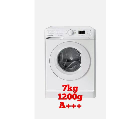 Indesit Lavatrice Indesit 7kg 1200gg A+++