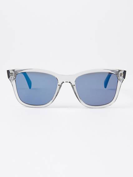 Levis Blue Square Sunglasses Blu / Grey Blue