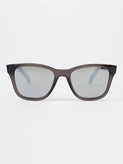 Levis Grey Square Sunglasses Nero / Grey