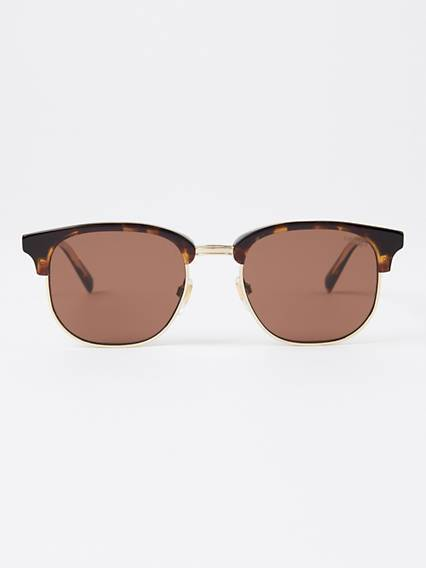 Levis Brownline Sunglasses Marrone / Dark Havana