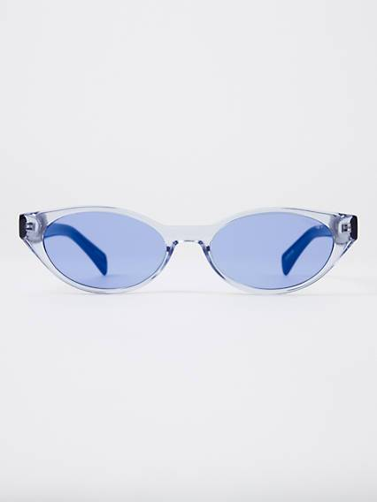 Levis Blue Cat Eye Sunglasses Blu / Blue