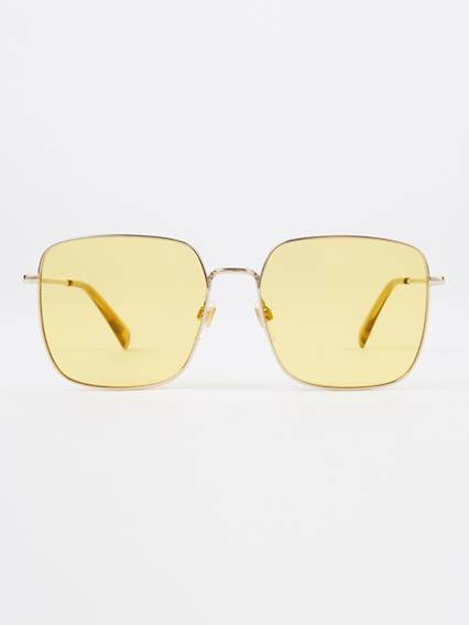 Levis Yellow Square Sunglasses Giallo / Gold Yellow