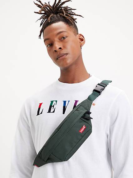 Levis Standard Banana Sling Bag Verde / Regular Green