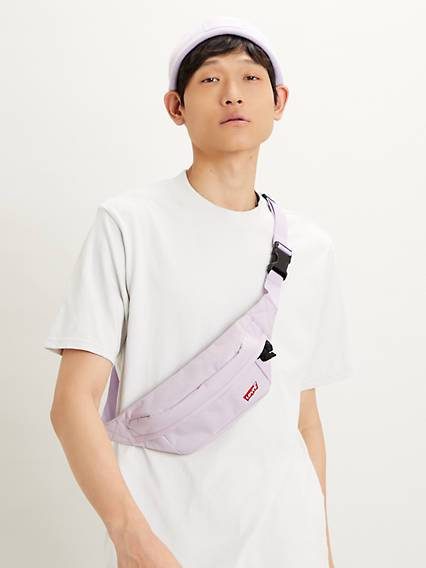 Levis Standard Banana Sling Bag Viola / Light Purple