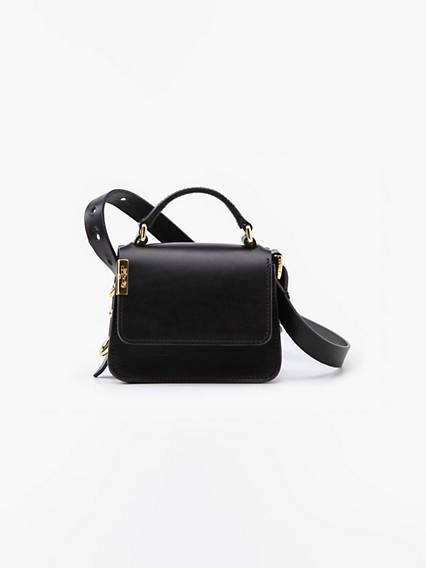 Levis Premium L Bag Mini Handbag Nero / Regular Black
