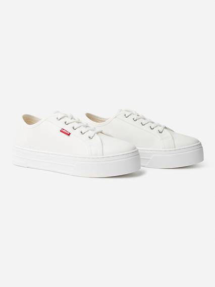 Levis Tijuana Sneakers Bianco / Regular White