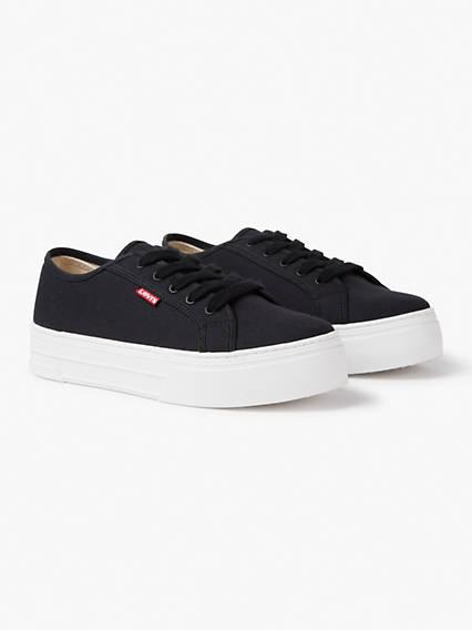 Levis Tijuana Platform Sneakers Nero / Regular Black