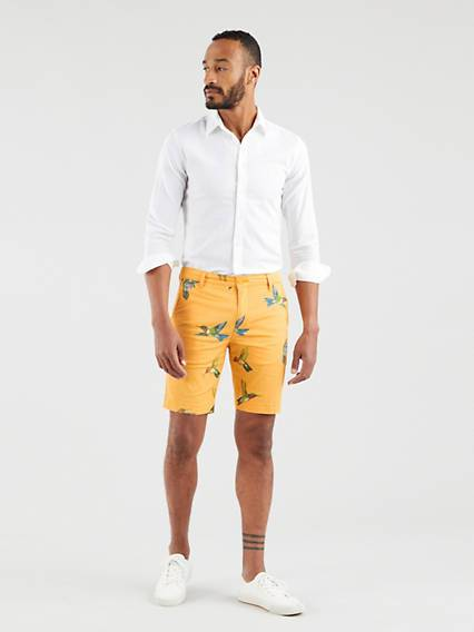 Levis XX Chino Taper Shorts Neutral / Hummingbird Kumquat