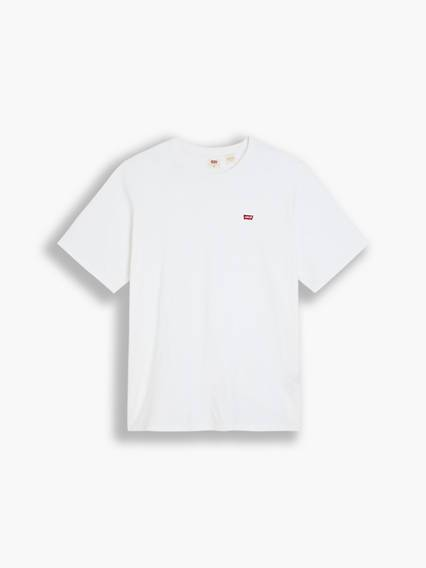 Levis Original Housemarked Tee (Big & Tall) Bianco / White