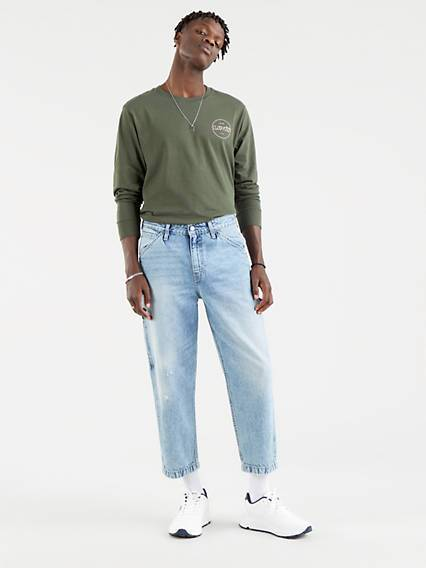 Levis Taper Carpenter Crop Neutral / Hundred Choices